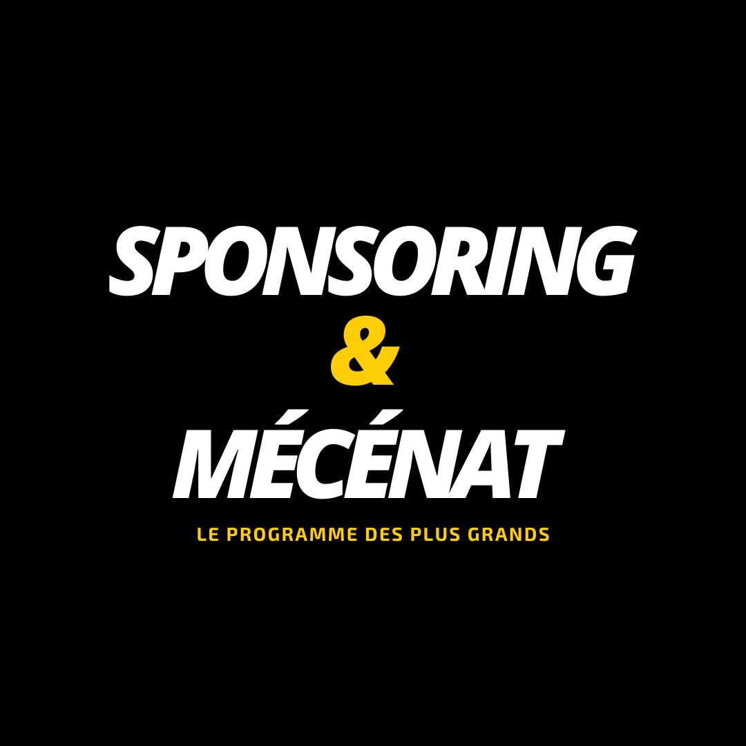 Sponsoring et mécénat